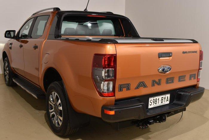 2018 Ford Ranger Wildtrak PX MkIII MY19 4X4 Dual Range Orange