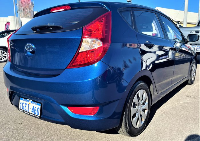 2016 Hyundai Accent Active RB4 MY17 Dazzling Blue