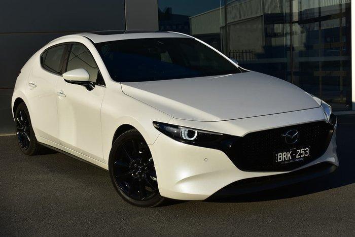 2020 Mazda 3 G25 Astina BP Series White