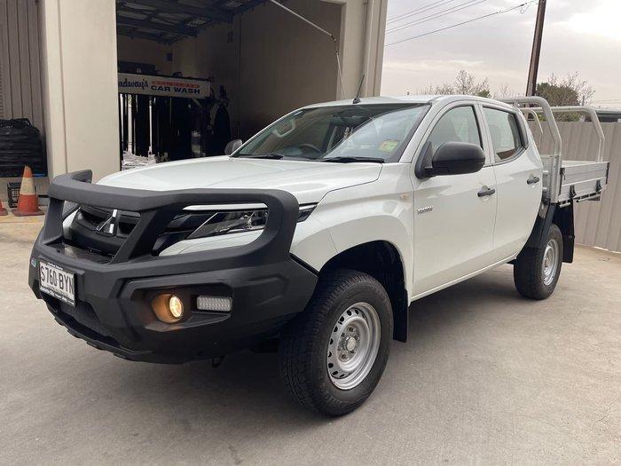2018 Mitsubishi Triton GLX MR MY19 4X4 Dual Range White