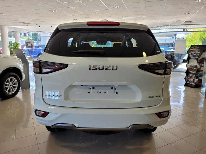 2021 Isuzu MU-X LS-U MY21 Mineral White