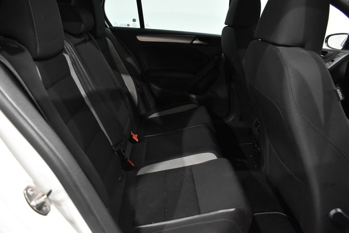 2012 Volkswagen Golf R VI MY13 Four Wheel Drive Candy White