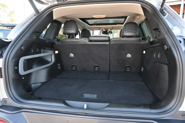 2014 Jeep Cherokee Limited KL MY15 4X4 On Demand Billet Silver
