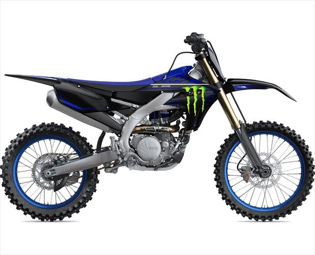2021 YAMAHA Competition YZ450F Monster Energy Blue/Black