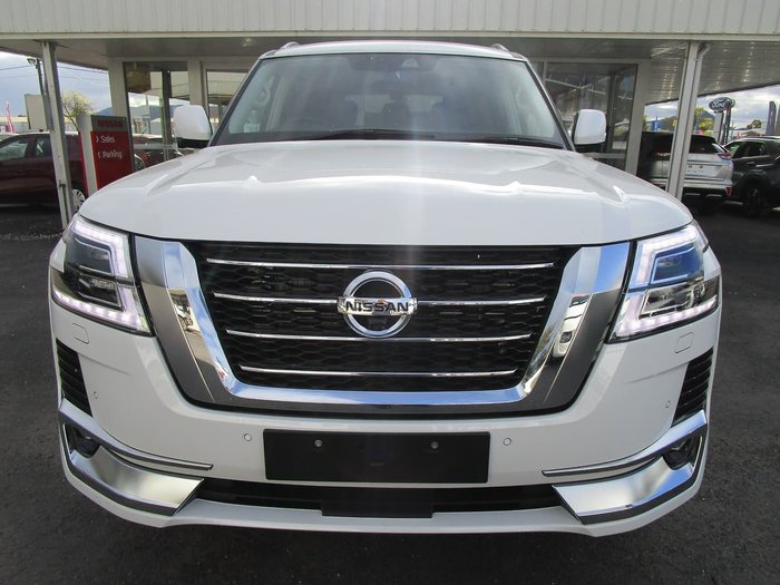 2021 Nissan Patrol Ti-L Y62 MY21 4X4 Dual Range White