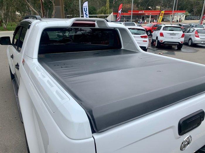 2016 Holden Colorado Z71 RG MY17 4X4 Dual Range White