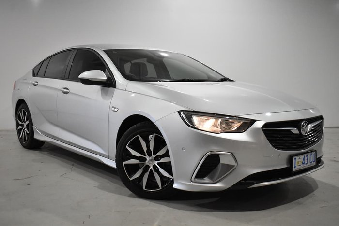 2019 Holden Commodore RS ZB MY19 Nitrate Silver