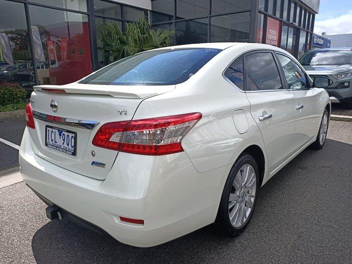 2013 Nissan Pulsar Ti B17 White