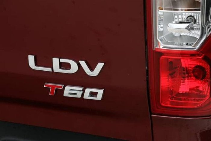 2021 LDV T60 PRO SK8C 4X4 Dual Range Agate Red