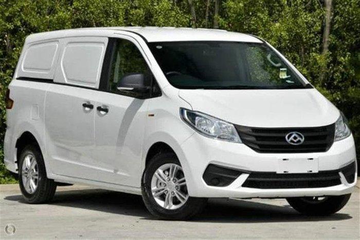 2021 LDV G10 + SV7C Blanc White
