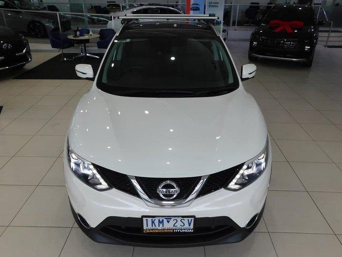 2017 Nissan QASHQAI TL J11 White
