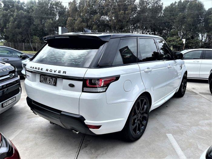 2017 Land Rover Range Rover Sport TDV6 SE L494 MY17 4X4 Constant White