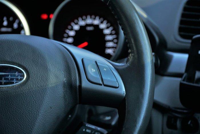 2009 Subaru Tribeca R B9 MY09 AWD White