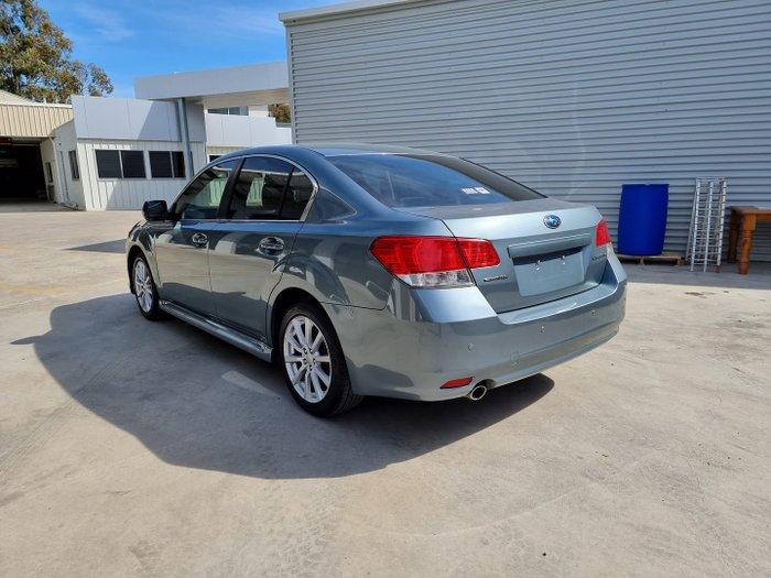 2009 Subaru Liberty 2.5i Premium 5GEN MY10 AWD Steel Silver