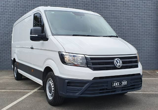 2018 Volkswagen Crafter 35 TDI340 Runner SY1 MY19 CANDY WHITE