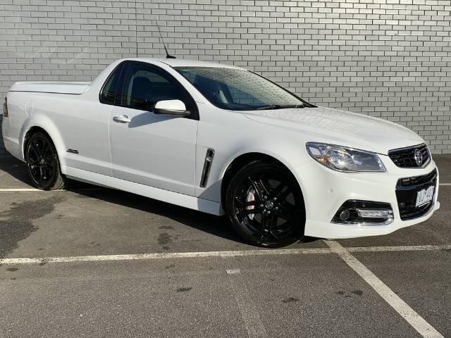 2015 Holden Ute SS V Redline VF MY15 WHITE