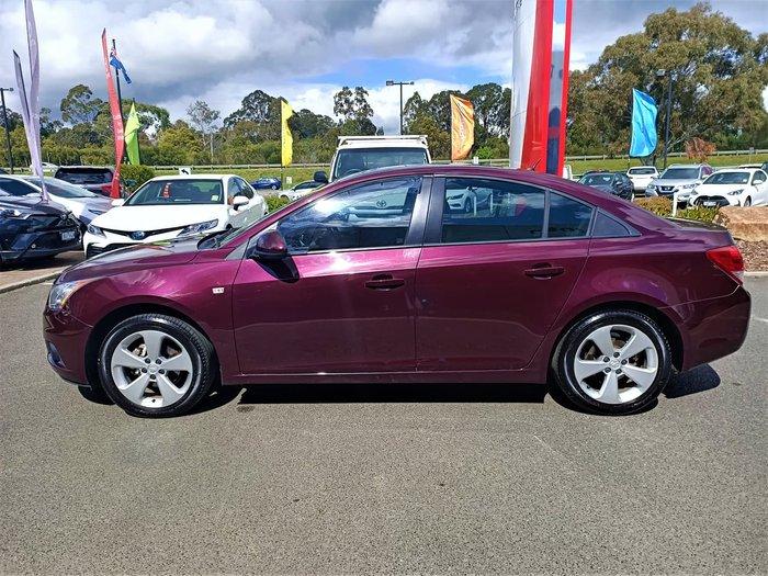 2012 Holden Cruze CD JH Series II MY13 Maroon