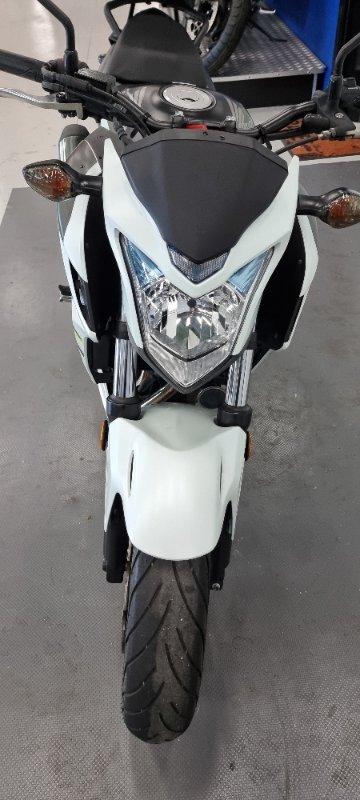 2016 Honda CB500FA (ABS) White