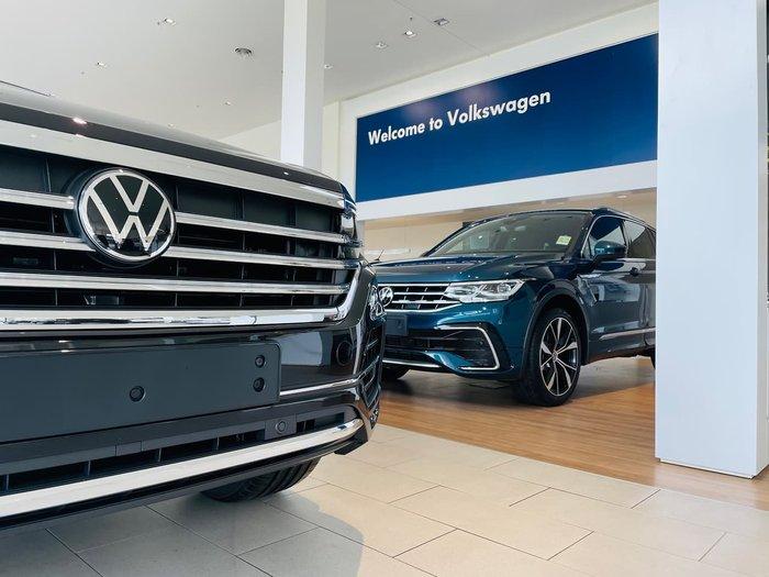 2021 Volkswagen Tiguan 162TSI Highline Allspace 5N MY21 Four Wheel Drive Black