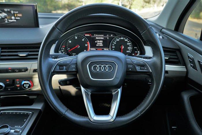 2018 Audi Q7 TDI 4M MY18 Four Wheel Drive White