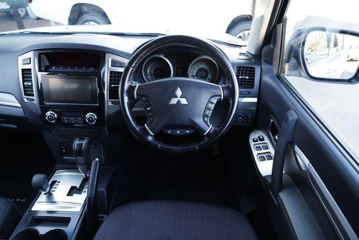 2017 Mitsubishi Pajero GLX NX MY17 4X4 Dual Range Silver