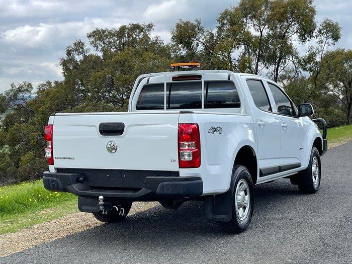 2018 Holden Colorado LS RG MY19 4X4 Dual Range White