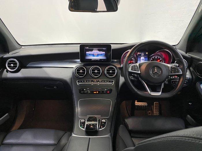2017 Mercedes-Benz GLC-Class GLC250 X253 Four Wheel Drive White