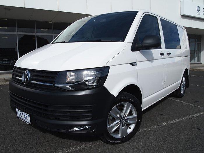 2017 Volkswagen Transporter TDI400 T6 MY18 Four Wheel Drive White