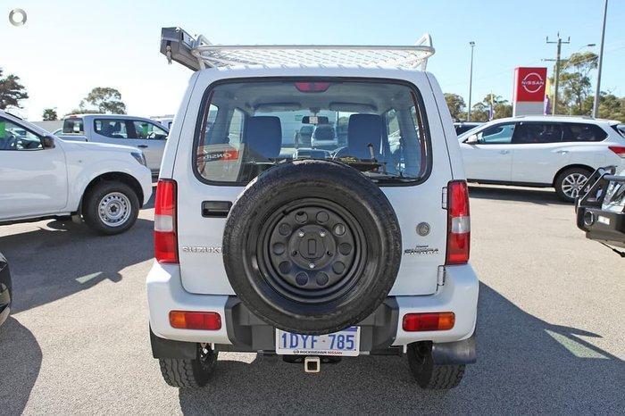 2012 Suzuki Jimny Sierra SN413 T6 4X4 Dual Range White