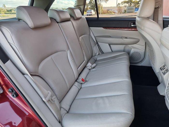 2010 Subaru Outback 3.6R Premium 4GEN MY10 AWD Burgundy