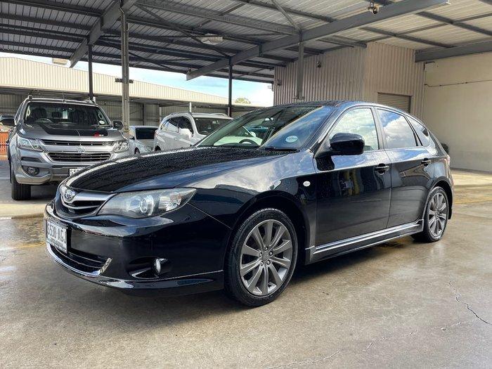 2009 Subaru Impreza RS G3 MY10 AWD Black