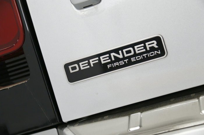 2020 Land Rover Defender 110 D240 First Edition L663 MY20 AWD Indus Silver