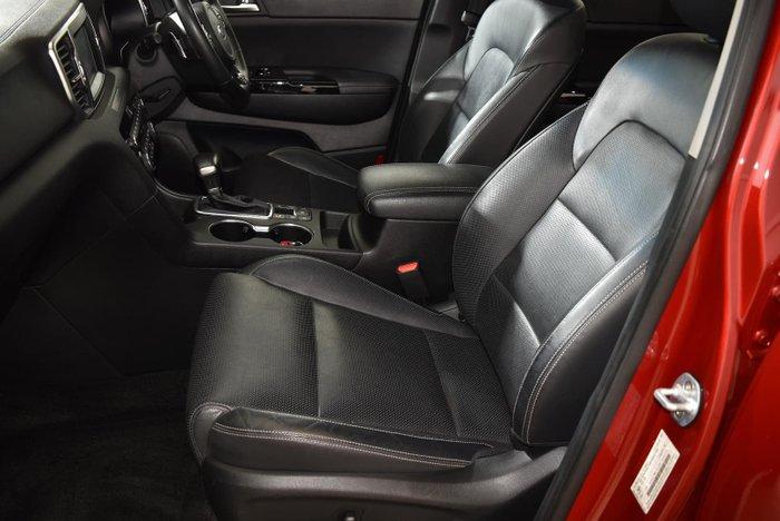 2017 Kia Sportage GT-Line QL MY17 AWD Fiery Red