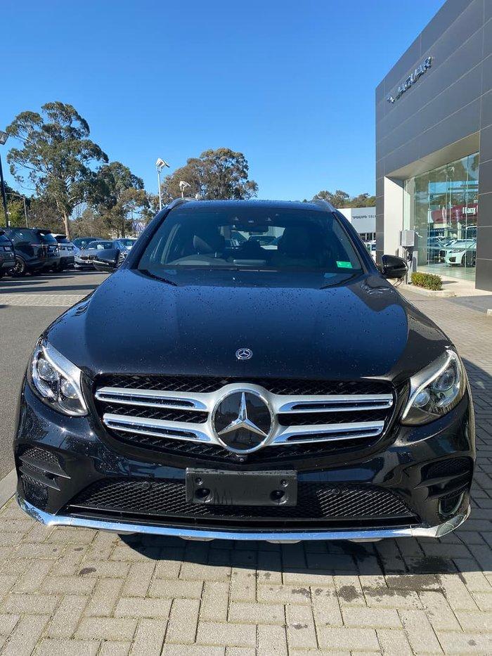 2017 Mercedes-Benz GLC-Class GLC250 d C253 Four Wheel Drive Obsidian Black