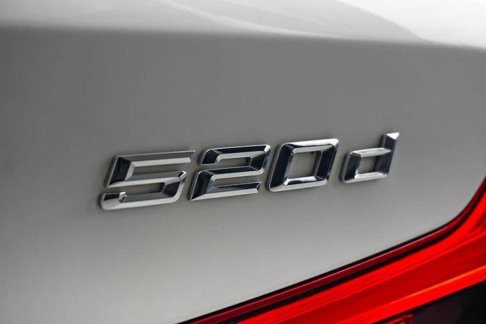 2018 BMW 5 Series 520d M Sport G31 White