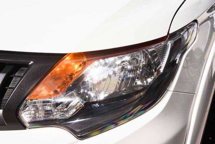 2016 Mitsubishi Triton GLX+ MQ MY16 4X4 Dual Range White