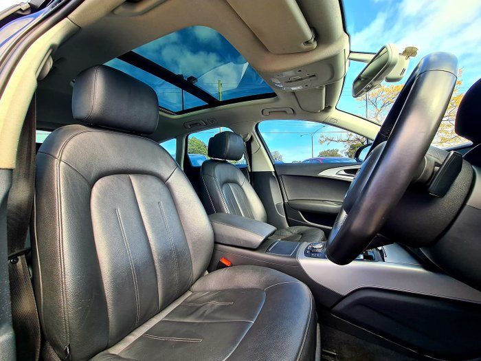 2012 Audi A6 C7 Blue