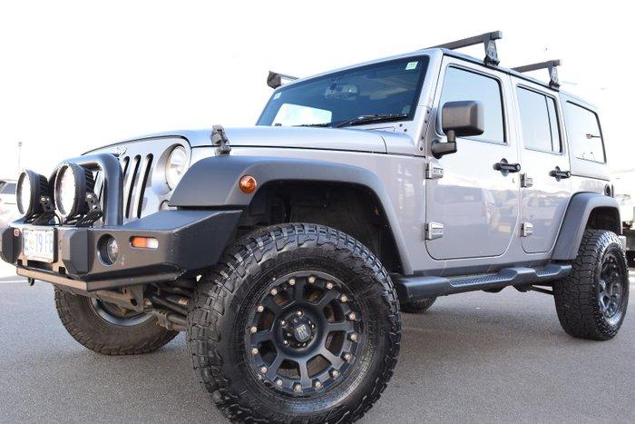 2013 Jeep Wrangler Unlimited Sport JK MY14 4X4 Billet Silver