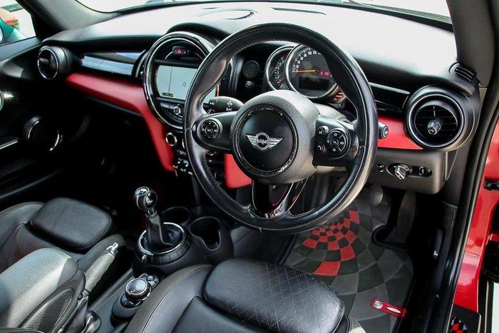 2014 MINI Hatch Cooper S F56 Red