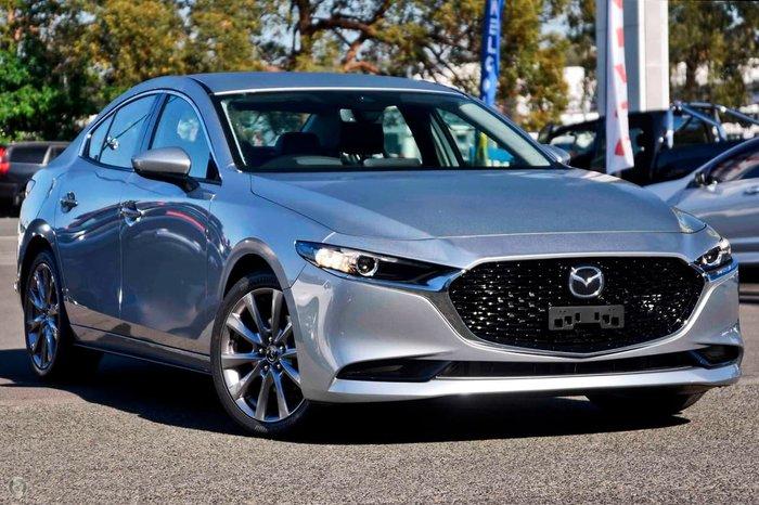 2021 Mazda 3 G25 GT BP Series Sonic Silver