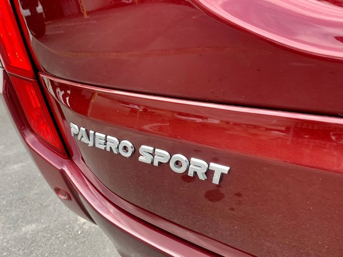2017 Mitsubishi Pajero Sport GLX QE MY17 4X4 Dual Range Red