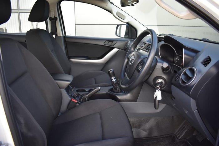 2019 Mazda BT-50 XT Hi-Rider UR White
