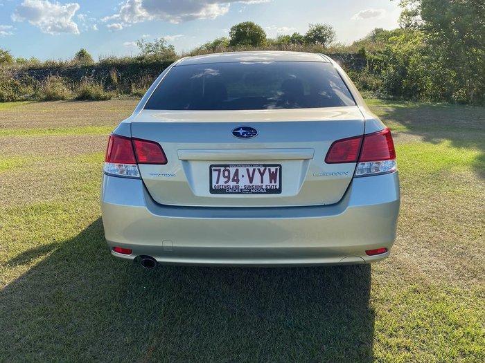 2010 Subaru Liberty 2.5i Premium 5GEN MY10 AWD Gold