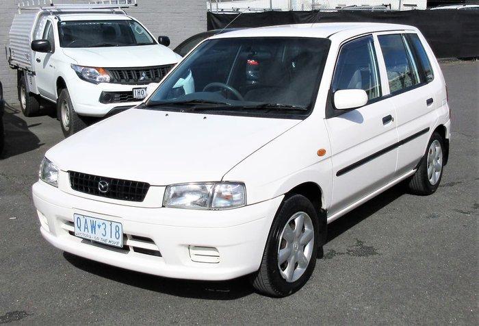 2000 Mazda 121 Shades Metro DW Series 1 White
