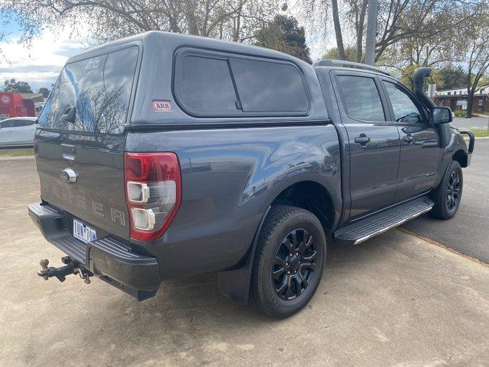 2019 Ford Ranger Wildtrak PX MkIII MY20.25 4X4 Dual Range Meteor Grey