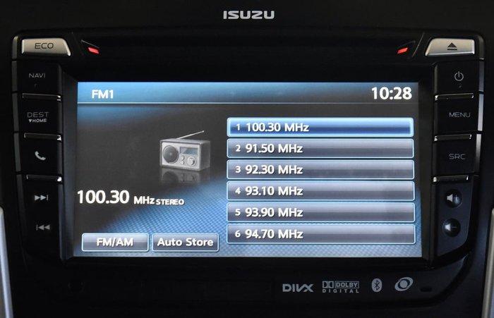 2016 Isuzu MU-X LS-U MY15.5 4X4 Dual Range Grey