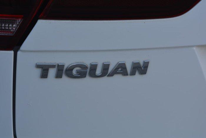 2017 Volkswagen Tiguan 110TSI Comfortline 5N MY18 Pure White