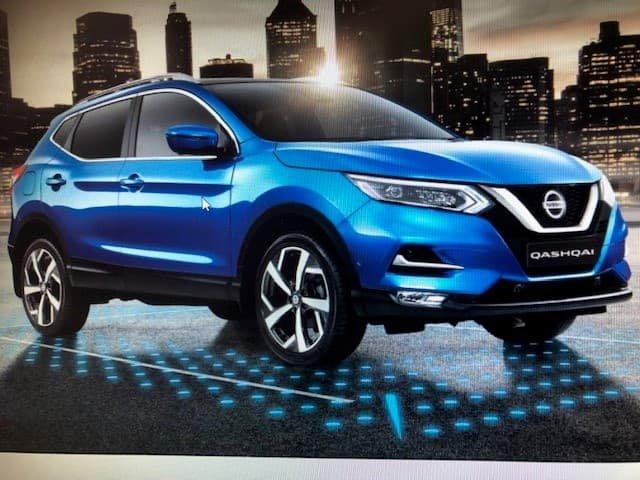 2021 Nissan QASHQAI Ti J11 Series 3 MY20 Vivid Blue