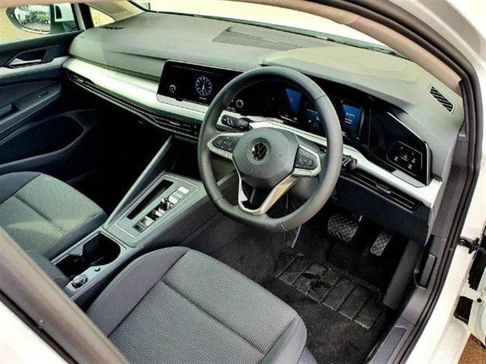 2021 Volkswagen Golf 110TSI 8 MY21 Pure White