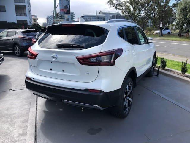 2021 Nissan QASHQAI Ti J11 Series 3 MY20 Ivory Pearl